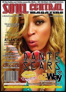 Dante Soul Central Magazine Cover